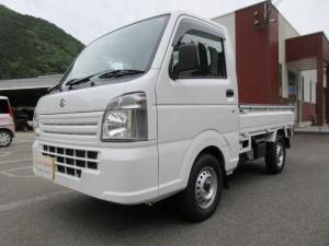 スズキ キャリイトラック KCエアコン・パワステ 4WD WSRS ABS