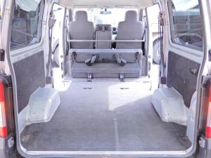 日産 NV350キャラバンバン ロングDXターボ ディーゼル軽油車 ワンオーナー キセノンヘッドライト 両側スライド5D 乗車定員6人乗り 社外15AW キーレス ETC 内外荷台クリーニング済 フォグライト ルーフキャリア積込 タイミングチェーン式