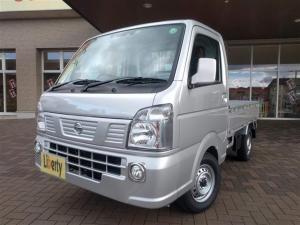 日産 NT100クリッパートラック GX 5MT パートタイム 4WD キーレス CD WエアB