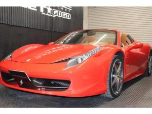 フェラーリ 458スパイダー  F1 DCT 2014モデル リフティング
