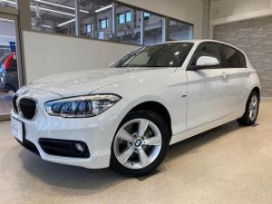 BMW 1シリーズ 118i スポーツ ワンオーナー 禁煙車 純正ナビ TV(フルセグ) バックモニター キーレス ドライビングパッケージ レーンアシスト機能付き ドライブレコーダー ユーザー買取車