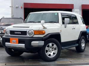 トヨタ FJクルーザー ベースグレード ワンオーナー A-TRAC RRデフロック 4WD コーナーセンサ クルコン ETC AW 盗難防止システム