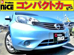 日産 ノート X DIG-S 純正SDナビ・プッシュスタート・スマートキー