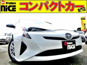 トヨタ プリウス S 安全ブレーキ・クルコン純正SDナビ・Bluetooth