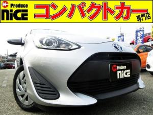 トヨタ アクア L 後期型・オーディオデッキ・リアコーナーセンサー・ETC