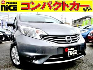 日産 ノート X DIG-S 純正オーディオ・Pスタート・ハロゲンヘッド