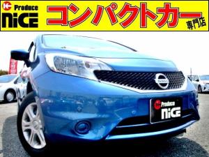 日産 ノート X 安全ブレーキ・アラウンドビューモニター・純正オーディオ
