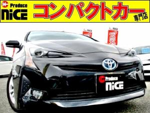 トヨタ プリウス E 新品TZナビ・Bluetooth・地デジ・LEDヘッド