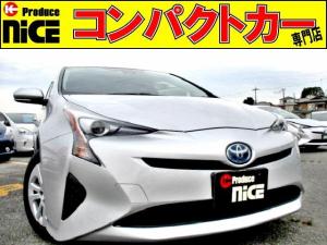 トヨタ プリウス S 安全ブレーキ・クルコン・バックカメラ・純正ナビ・ETC