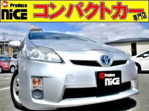 トヨタ プリウス L ETC・純正SDナビ・ワンセグ・Pスタート・スマートキー