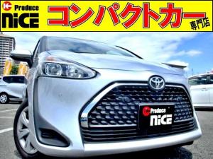 トヨタ シエンタ X 安全ブレーキ・3列シート片側パワースライドドア・純正ナビ