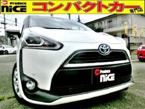 トヨタ シエンタ ハイブリッドG 安全ブレーキ・コーナーセンサー・純正SDナビ