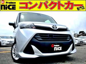 トヨタ タンク X S 安全ブレーキ・社外メモリーナビ・バックカメラ・ETC