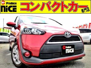 トヨタ シエンタ X 安全ブレーキ・3列シート・Bカメラ・社外ナビ・片側Pスラ