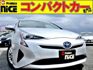 トヨタ プリウス S 安全ブレーキ・8型ナビ・クルコン・バックカメラ・ETC