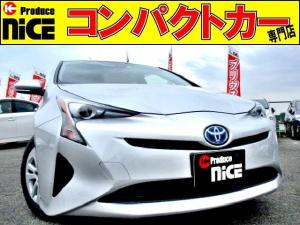 トヨタ プリウス E 安全ブレーキ・クルコン・ETC・Bカメラ・純正SDナビ