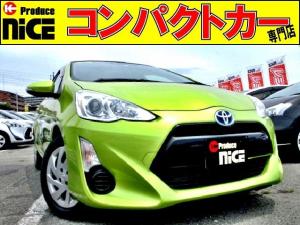 トヨタ アクア S 純正ナビ・ワンセグ・ETC・プロジェクターヘッドライト