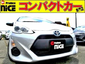 トヨタ アクア L ETC・純正オーディオデッキ・プロジェクターヘッドライト