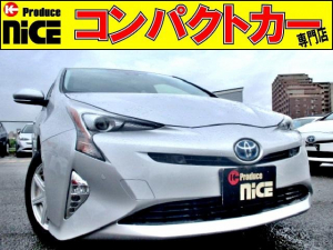 トヨタ プリウス Sセーフティプラス安全ブレーキクルコン寒冷地仕様ETC2.0
