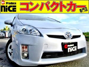 トヨタ プリウス S フォグライト・バックカメラ・ワンセグ純正SDナビ・ETC