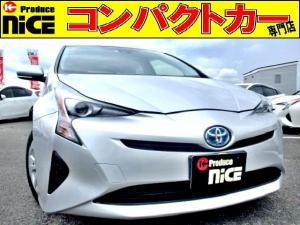 トヨタ プリウス S 安全ブレーキ・クルコン・バックカメラ・純正SDナビETC