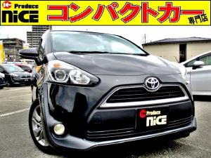 トヨタ シエンタ X 安全ブレーキ・Bluetooth・純正ナビ・15アルミ