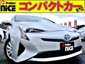 トヨタ プリウス S LEDヘッドライト・スマートキーPスタート・スタッドレス