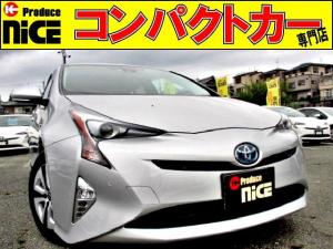 トヨタ プリウス A 安全ブレーキ・クルコン・コーナーセンサーPアシストHUD