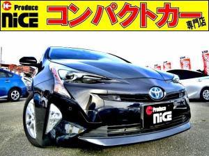 トヨタ プリウス Sセーフティプラス 安全ブレーキ・コーナーセンサー・クルコン・バックカメラ・ETC・フォグライト・Pアシスト・ヘッドアップディスプレイ・LEDヘッドライト・オートハイビーム・純正SDナビ・Bluetooth・フルセグ
