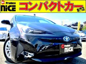 トヨタ プリウス S 安全ブレーキ・クルコン・Bカメラ・純正SDナビ・Bluetooth・ワンセグTV・ETC・オートハイビーム・LEDヘッドライト・スマートキープッシュスタート・オートエアコン・ウインカーミラー