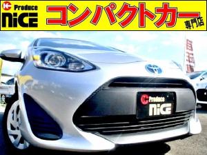 トヨタ アクア L 後期型アクア・プロジェクターヘッドライト・オートエアコン・ウインカードアミラー・アイドリングストップ・15インチタイヤ