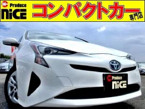 トヨタ プリウス S 安全ブレーキ・クルコン・純正SDナビ・Bluetooth・ワンセグ・オートハイビーム・LEDヘッドライト・ETC・Bカメラ・プッシュスタート・スマートキー・オートエアコン・ウィンカードアミラー