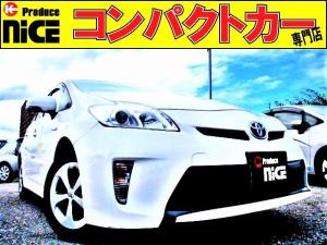 トヨタ プリウス L LEDヘッドライト・純正SDナビ・Bluetooth・ワンセグTV・・ETC・オートエアコン・スマートキー・Pスタート・ウインカーミラー・アイドリングストップ