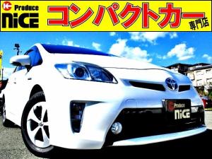 トヨタ プリウス S 後期型・バックカメラ・HIDヘッドライト・フォグライト・純正HDDナビ・プッシュスタート・スマートキー・オートエアコン・ウインカードアミラー