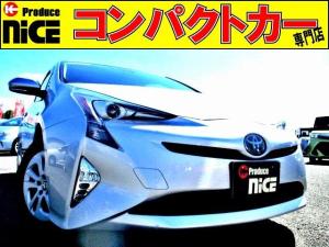 トヨタ プリウス S 安全ブレーキ・クルコン・LEDヘッドライト・フォグライト・ETC・Bカメラ・SDナビ・Bluetooth・ワンセグ・プッシュスタート・オートエアコン・ウィンカーミラー
