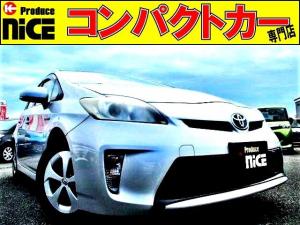 トヨタ プリウス S 後期型・バックカメラ・ETC・純正SDナビ・Bluetooth・ワンセグ・HIDヘッドライト・スマートキー・ウインカーミラー・オートエアコン・アイドリングストップ