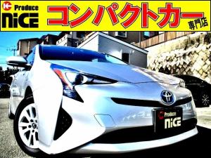 トヨタ プリウス S ETC・純正SDナビ・プッシュスタート・スマートキー・LEDヘッドライト・オートエアコン・ウインカードアミラー・アイドリングストップ
