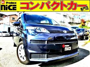 トヨタ スペイド X 片側電動スライドドア・バックカメラ・ETC・純正SDナビ・ハロゲンヘッドライト・ウインカードアミラー・キーレスエントリー