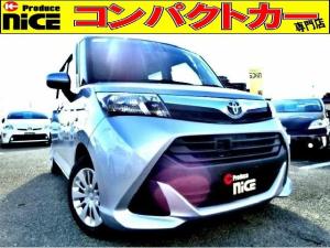 トヨタ タンク X S 安全ブレーキ・シートヒーター・片側パワースライドドア・純正オーディオデッキ・AUX対応・プッシュスタート・スマートキー・ハロゲンヘッドライト・アイドリングストップ