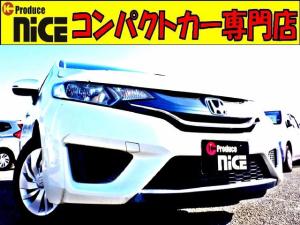 ホンダ フィット 13G・Fパッケージ 純正オーディオデッキ・CD・AUX対応・ハロゲンヘッドライト・スマートキー・プッシュスタート・アイドリングストップ・ウインカードアミラー