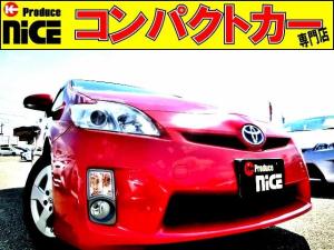 トヨタ プリウス S 純正オーディオデッキ・ETC・コーナーセンサー・スマートキー・フォグライト・プロジェクターヘッドライト・オートエアコン・15AW・電動格納式ウインカードアミラー