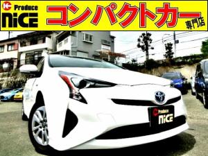 トヨタ プリウス S ETC・KENWOODメモリーナビ・Bluetooth・ワンセグTV・スマートキー・オートエアコン・LEDヘッドライト・プッシュスタート・15インチAW・電格式ウインカーミラー