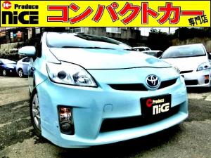 トヨタ プリウス S ドラレコ・Bカメラ・ETC・純正HDDナビ・スマートキー・フォグライト・プロジェクターヘッドライト・オートエアコン・プッシュスタート・ウインカードアミラー・15インチアルミ