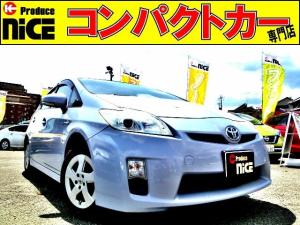 トヨタ プリウス L スマートキー・プッシュスタート・プロジェクターヘッドライト・電動格納式ウインカードアミラー・アイドリングストップ・15インチアルミ
