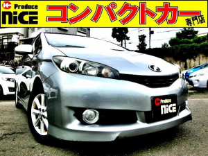 トヨタ ウィッシュ 2.0G バックカメラ・ETC・純正HDDナビ・Bluetooth・スマートキー・オートエアコン・15インチアルミ・クルーズコントロール・HIDヘッド・フォグライト・3列シート・7人乗り