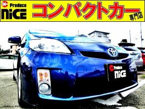 トヨタ プリウス S 純正オーディオデッキ・スマートキー・プッシュスタート・15AWスタッドレスタイヤ・オートエアコン・フォグライト・プロジェクターヘッドライト・ウインカードアミラー