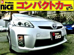 トヨタ プリウス S バックカメラ・ETC・純正HDDナビ・ワンセグTV・スマートキー・オートエアコン・プロジェクターヘッドライト・フォグライト・プッシュスタート・ウインカードアミラー