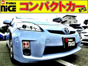 トヨタ プリウス L 純正メモリーナビ・Bluetooth・ワンセグTV・バックカメラ・ETC・スマートキー・オートエアコン・プロジェクターヘッドライト・ウインカードアミラー・15AW