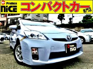 トヨタ プリウス L 社外HDDナビ・Bluetooth・ワンセグTV・バックカメラ・ETC・スマートキー・プロジェクターヘッドライト・オートエアコン・ウインカードアミラー・15インチアルミ