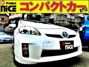 トヨタ プリウス S バックカメラ・ETC・純正HDDナビ・Bluetooth・スマートキー・オートエアコン・フォグライト・プロジェクターヘッドライト・ウインカードアミラー・15AW